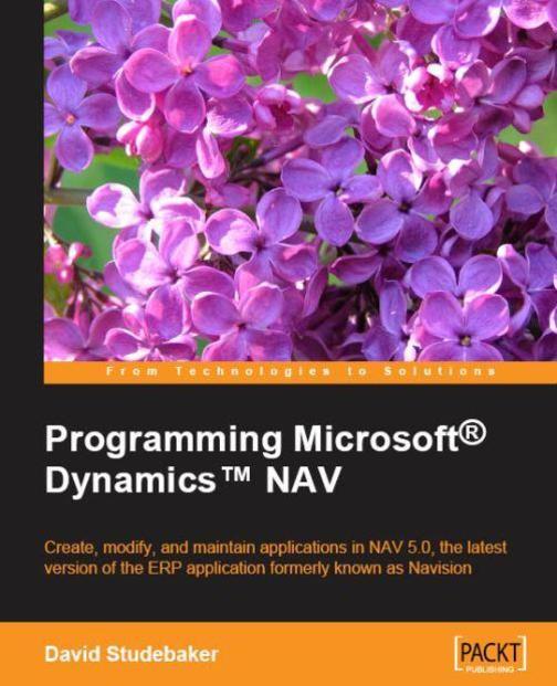 Programming Microsoft? Dynamics? NAV