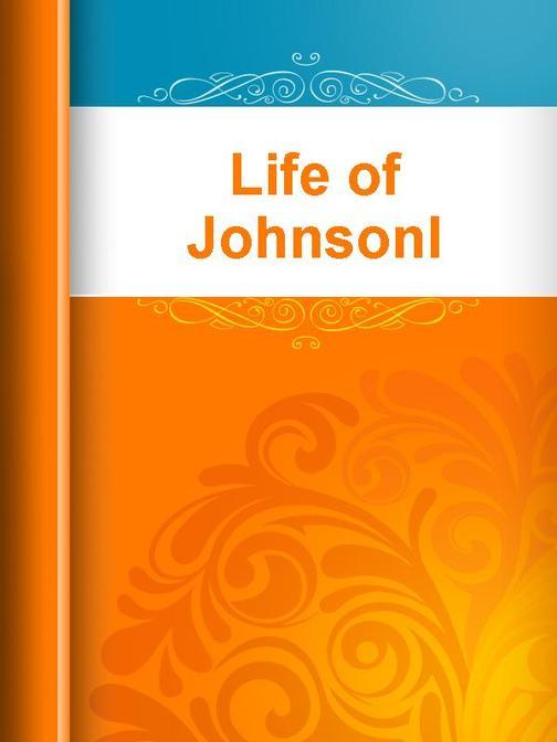 Life of Johnsonl