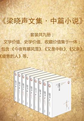 梁晓声文集(9册)