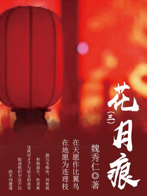 古典言情:花月痕(三)