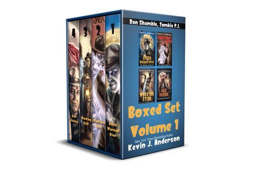 Dan Shamble, Zombie P.I. Boxed Set Volume 1