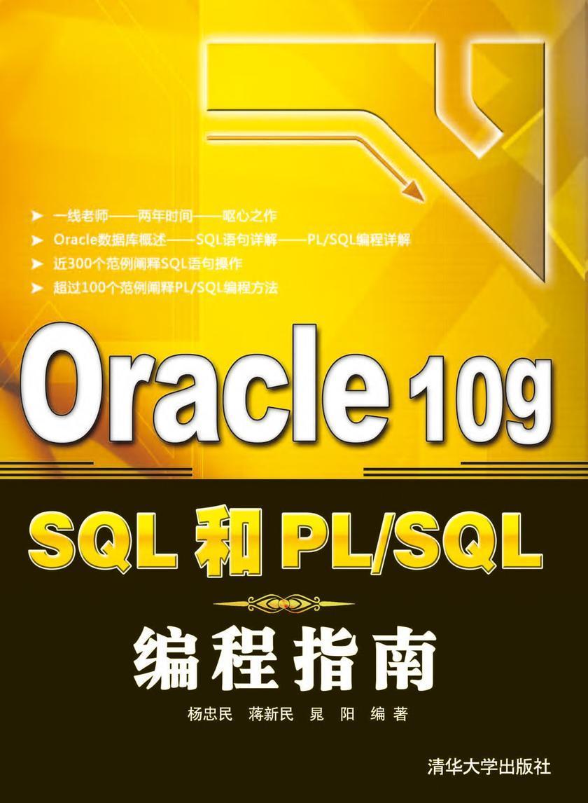 Oracle 10g SQL和PL/SQL编程指南(仅适用PC阅读)