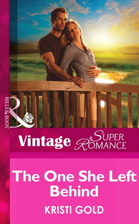 The One She Left Behind (Mills &  Boon Vintage Superromance) (Delta Secrets, Boo