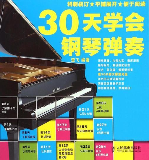 30天学会钢琴弹奏(附1DVD光盘)