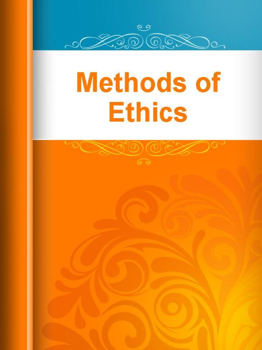 Methods of Ethics