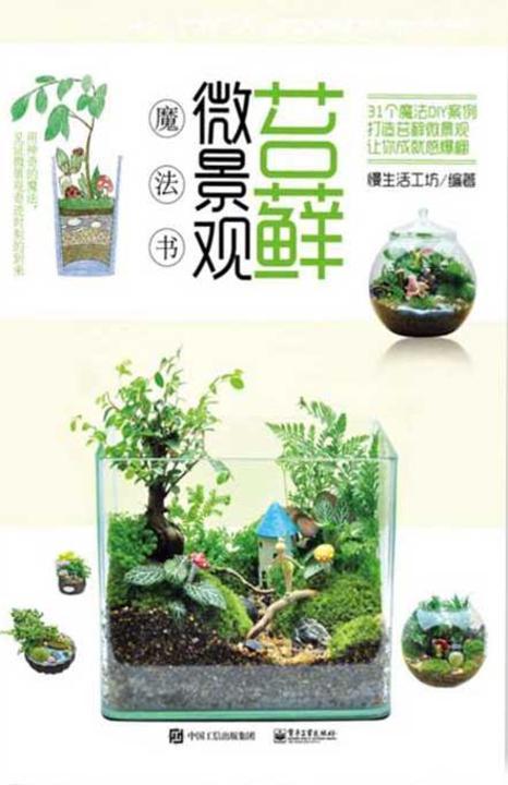 苔藓微景观魔法书