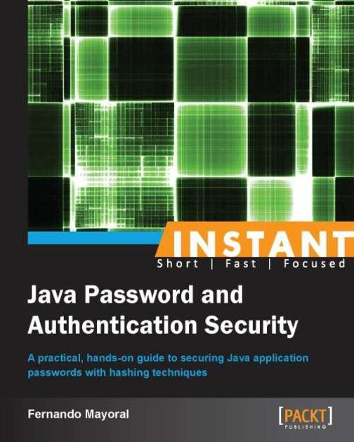 Instant Java Password and Authentication Security