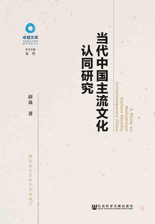 当代中国主流文化认同研究