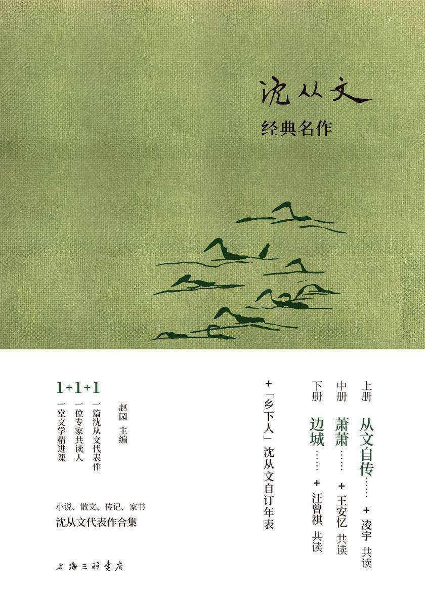 沈从文经典名作(上中下套装3册)