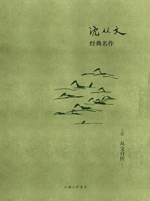 沈从文经典名作:从文自传(上册)