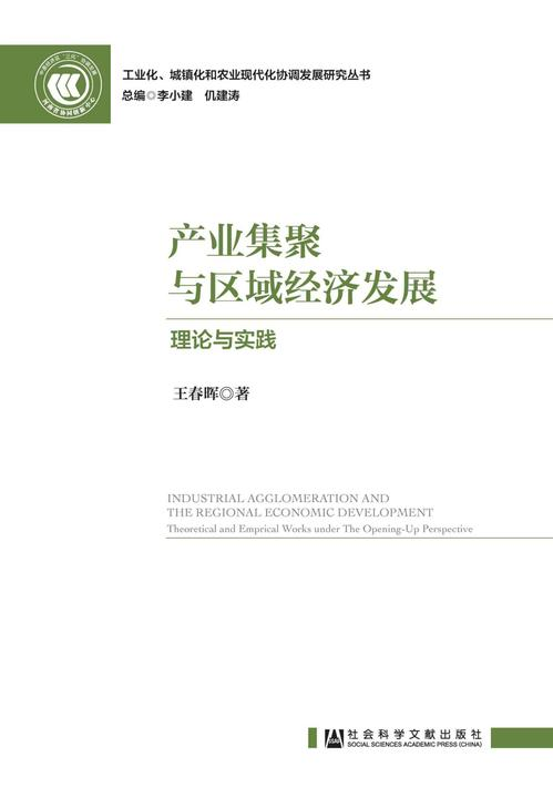 产业集聚与区域经济发展:理论与实践