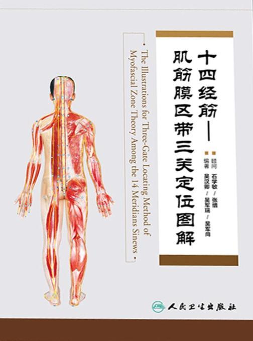 十四经筋—肌筋膜区带三关定位图解