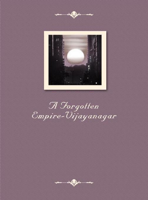 A Forgotten Empire-Vijayanagar