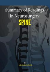 Summary of Readings in Neurosurgery: Spine