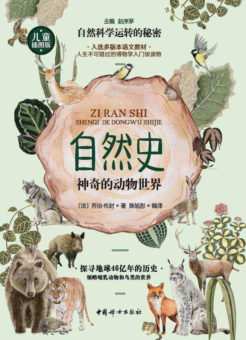 自然史:神奇的动物世界(入选多版本语文教材,人生不可错过的博物学入门级读物)