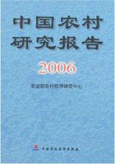 中国农村研究报告.2006年(仅适用PC阅读)