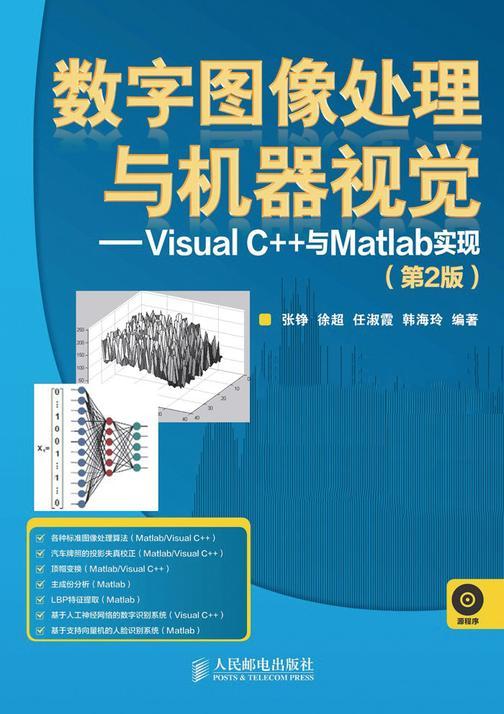 数字图像处理与机器视觉——Visual C++与Matlab实现(第2版)