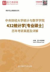 中央财经大学统计与数学学院432统计学[专业硕士]历年考研真题及详解