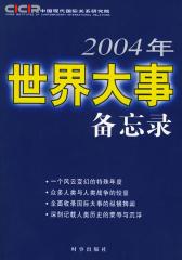 2004年世界大事备忘录