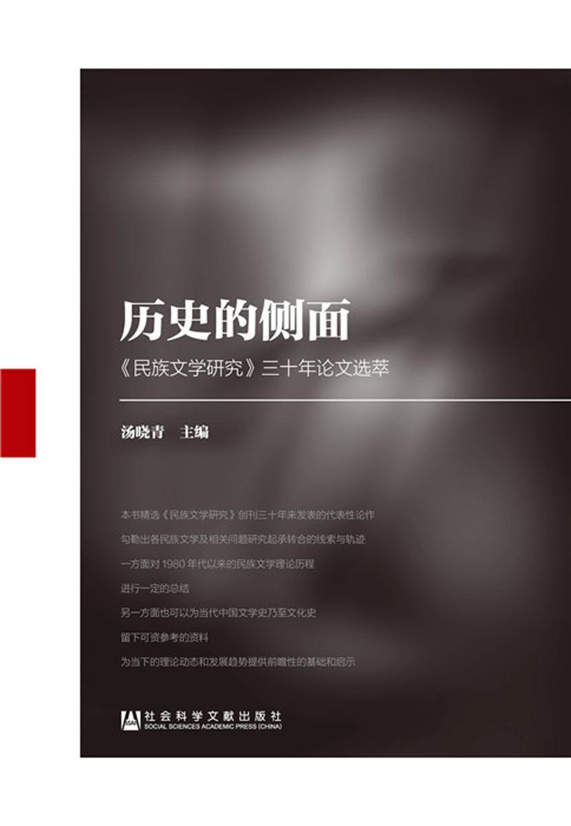 历史的侧面:《民族文学研究》三十年论文选萃