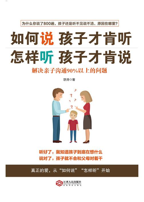 如何说孩子才肯听,怎样听孩子才肯说:解决亲子沟通90%以上的问题