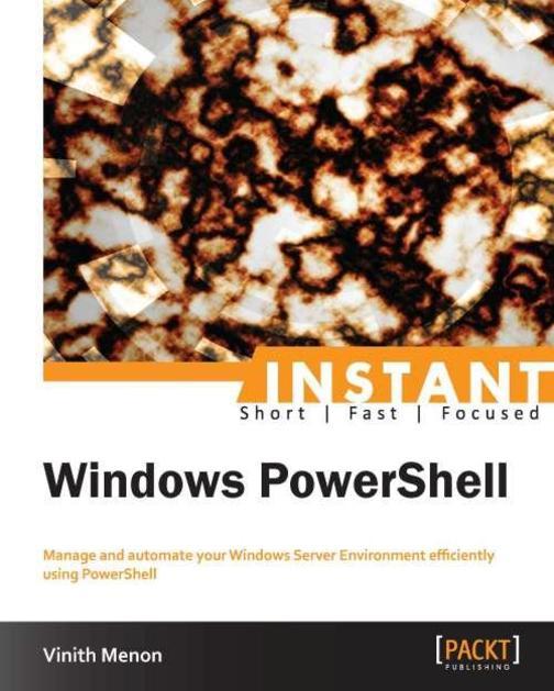 Instant Windows PowerShell