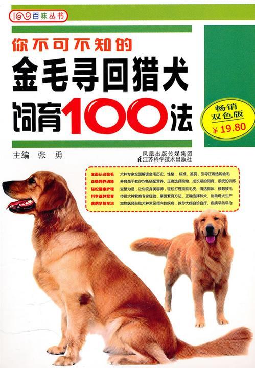 你不可不知的金毛寻回猎犬饲育100法