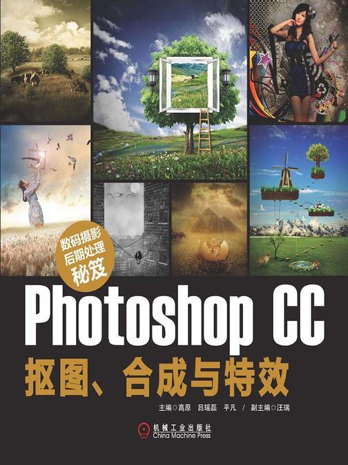 数码摄影后期处理秘笈:Photoshop CC抠图、合成与特效