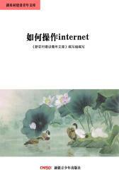 新农村建设青年文库——如何操作internet