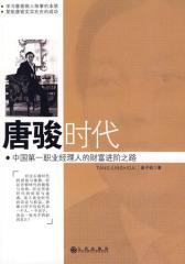唐骏时代:中国  职业经理人的财富进阶之路(试读本)