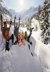 瑞士:雪舞