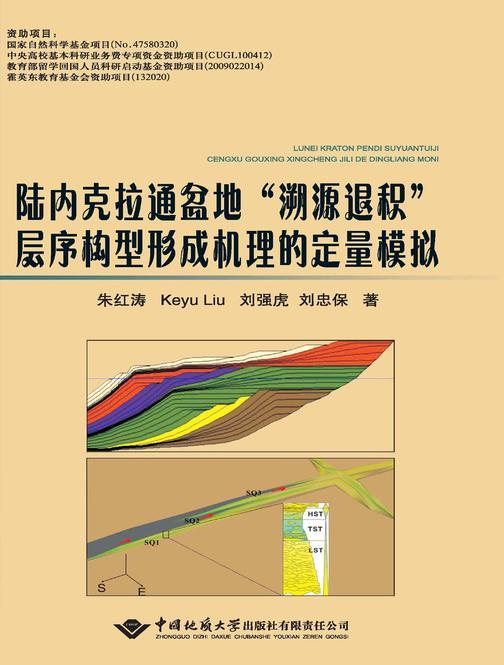 """陆内克拉通盆地""""溯源退积""""层序构型形成机理的定量模拟"""
