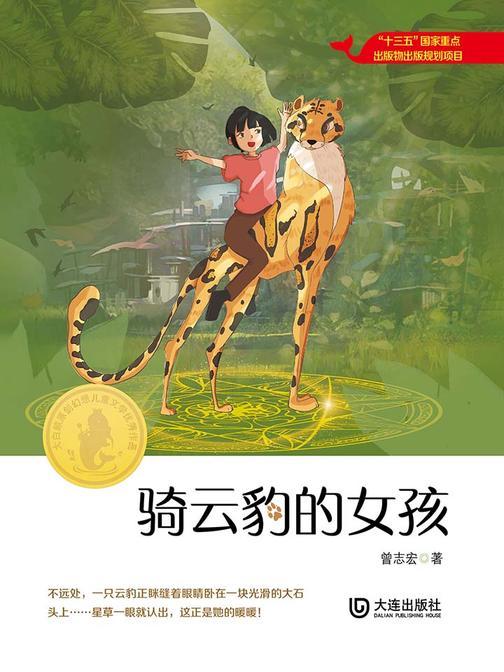 大白鲸原创幻想儿童文学优秀作品:骑云豹的女孩