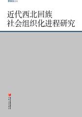 近代西北回族社会组织化进程研究