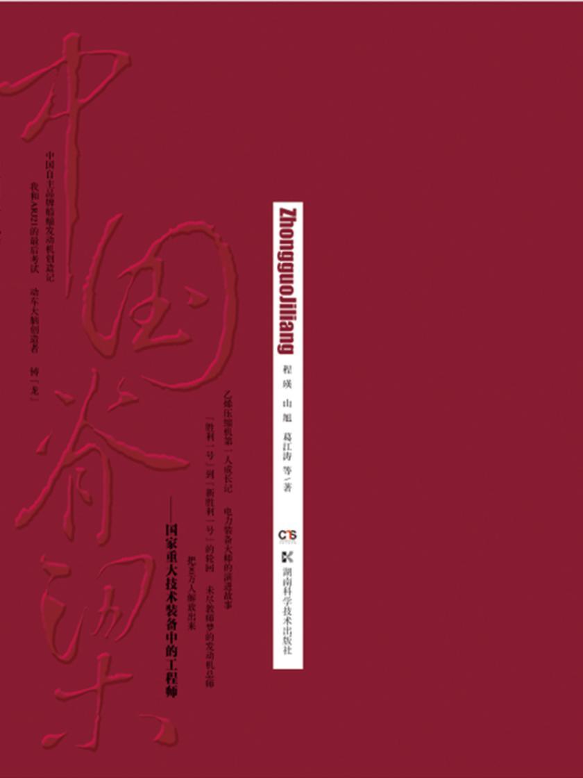 中国脊梁(国家重大技术装备中的工程师)