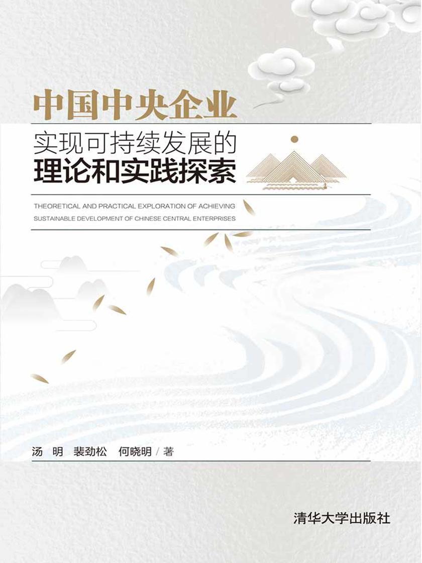 中国中央企业实现可持续发展的理论和实践探索