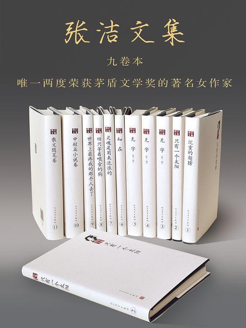 张洁作品集(套装共11册)