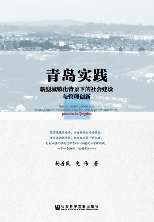 青岛实践:新型城镇化背景下的社会建设与管理创新
