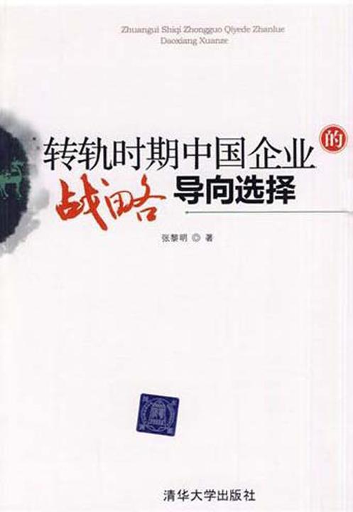 转轨时期中国企业战略导向选择