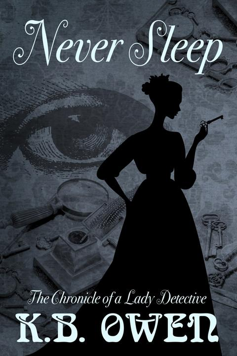 Never Sleep: The Chronicle of a Lady Detective, #1