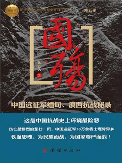 国殇:中国远征军缅甸滇西抗战秘录(第五部)
