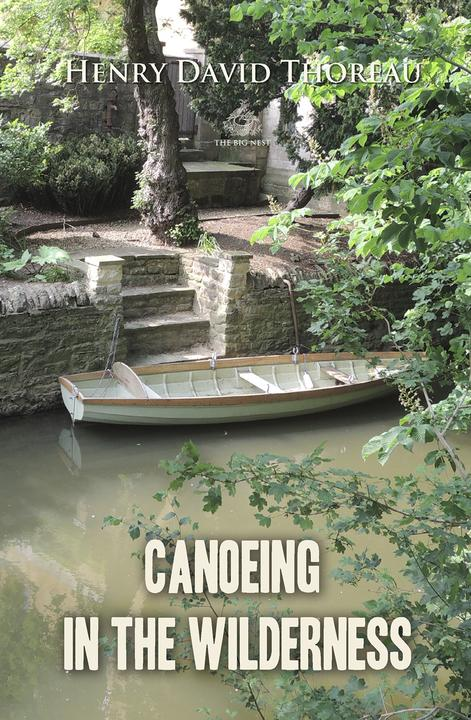 Canoeing in the wilderness