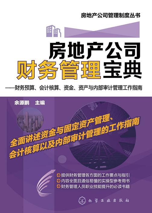 房地产公司财务管理宝典——财务预算、会计核算、资金、资产与内部审计管理工作指南