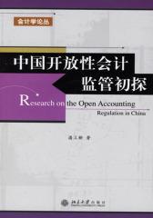 中国开放性会计监管初探