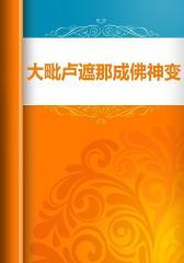 大毗卢遮那成佛神变加持经略示七支念诵随行法