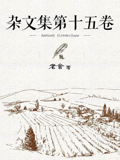 杂文集第十五卷