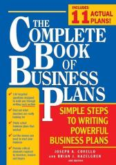 The Complete Book of Business Plans
