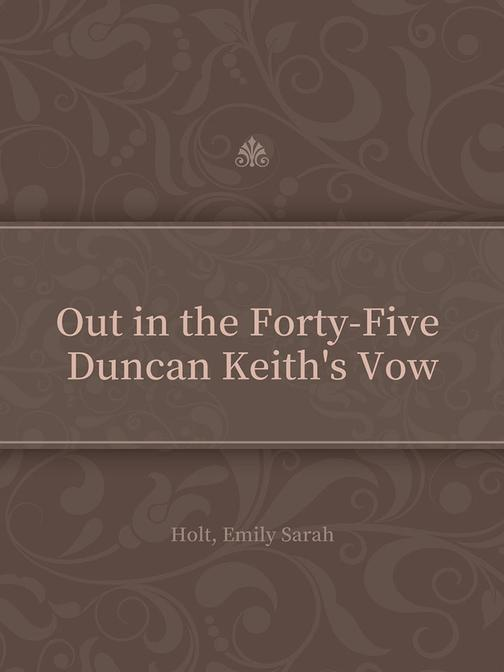 Out in the Forty-Five Duncan Keith's Vow