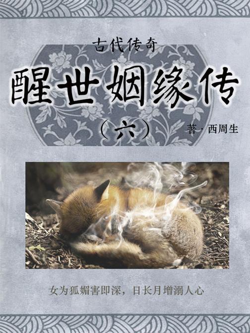 传统古典文学:醒世姻缘传(六)