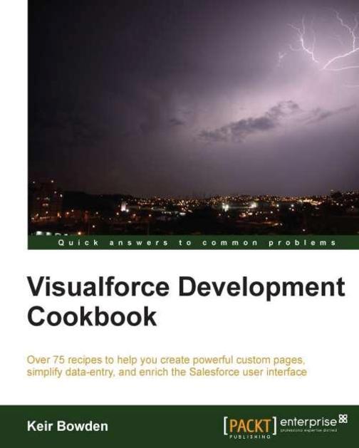 Visualforce Development Cookbook